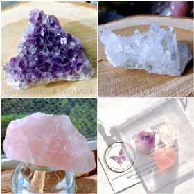 Gemstone Meditation Package With Tumble Stones